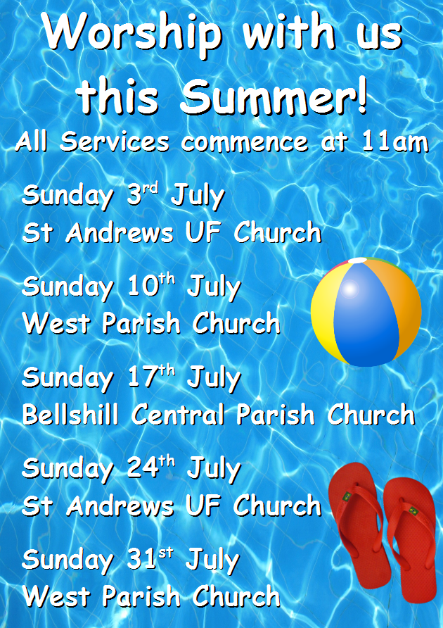Summer Services July
