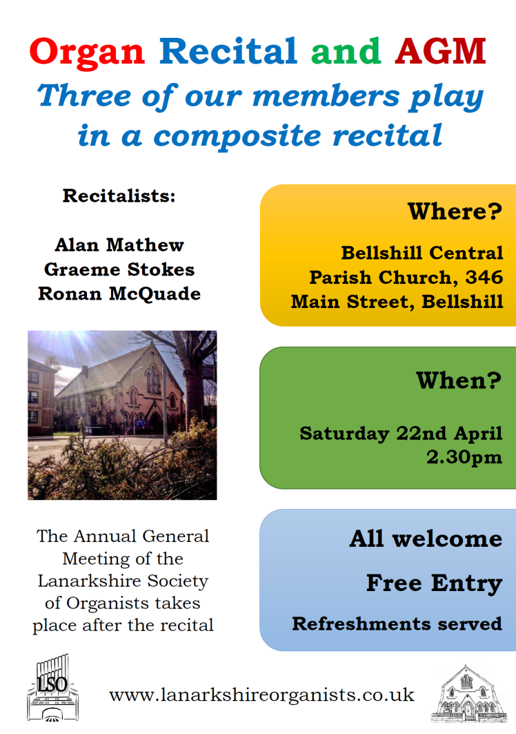 Organ Recital and AGM