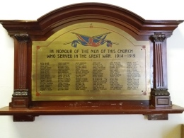 WW1 those who served