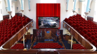 Cinema valet