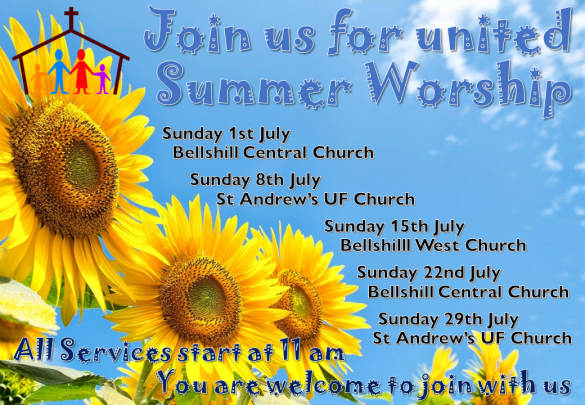Join us for united Summer Worship