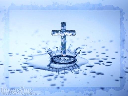 Water Drop Cross