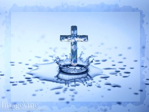 Water Drop Cross