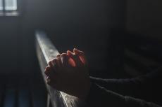 prayer-dark-background