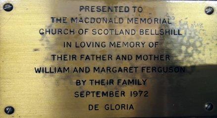 Free standing lectern (dedication and memorial)