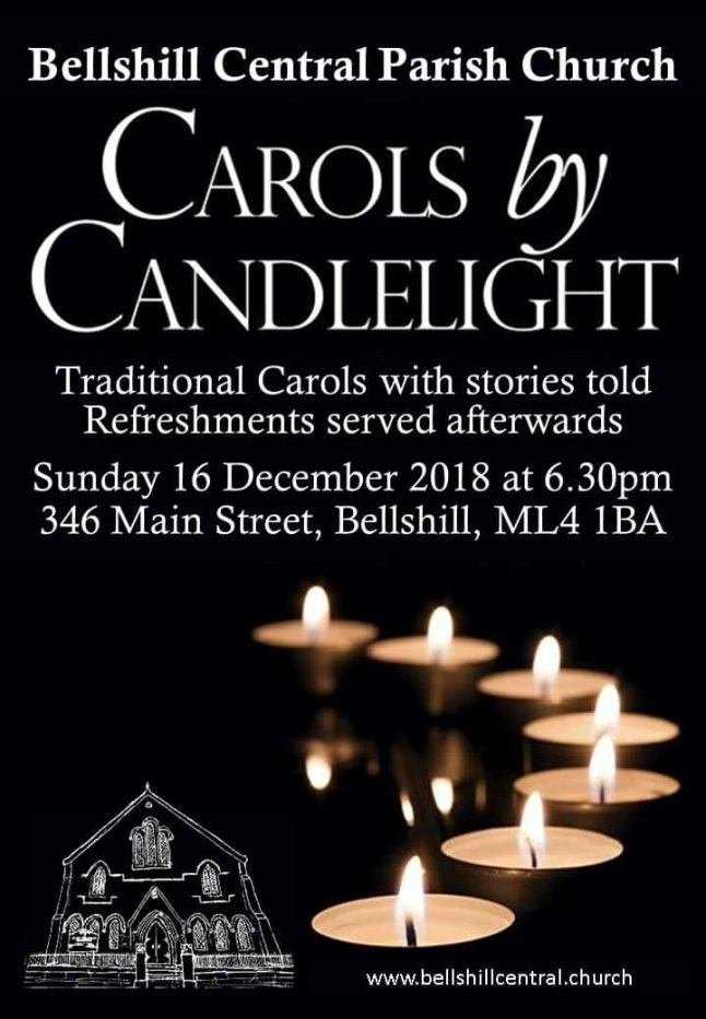 Sunday 16th December at 6.30pm
