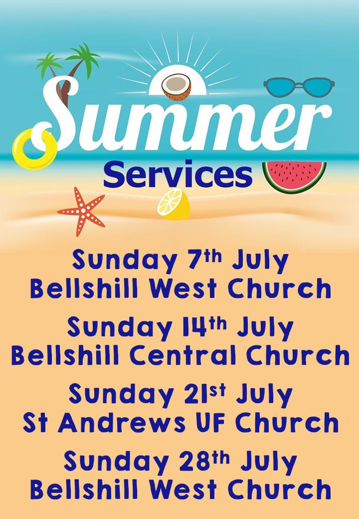 2019 summer services
