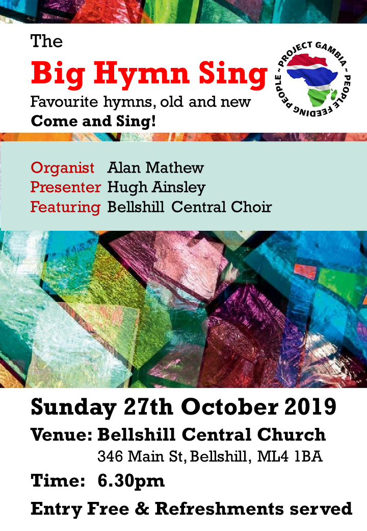 The Big Sing october 2019
