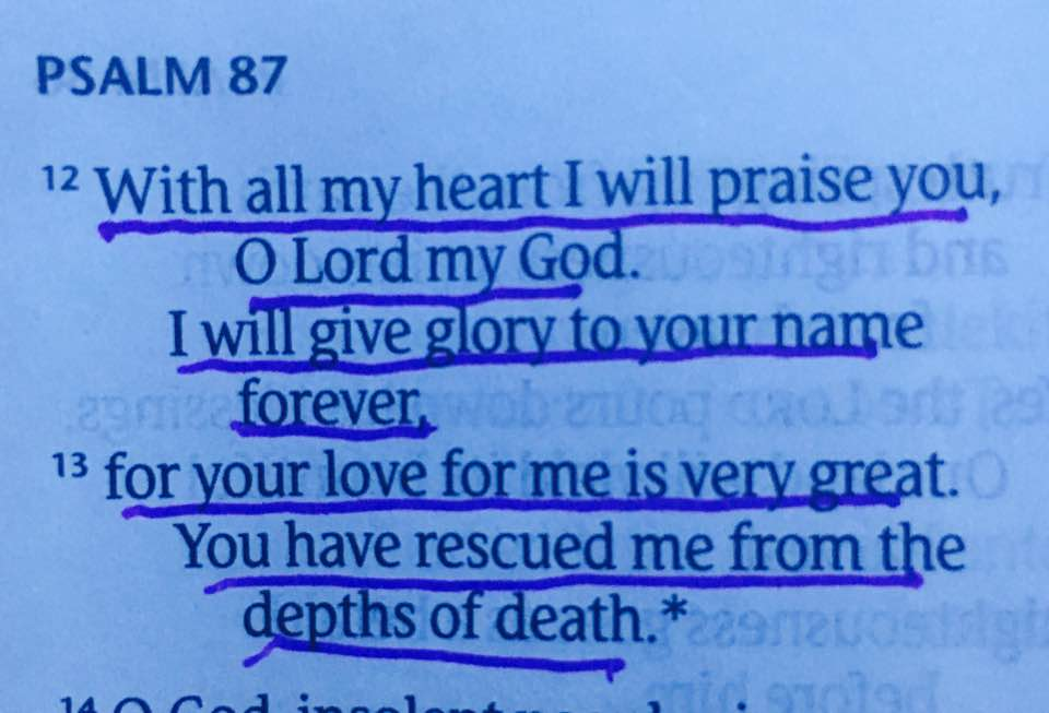 Psalm 87:12-13 — Crystal Olp