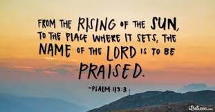 Psalm 113 - NIV Bible - Praise the LORD.Praise the LORD, you his servan...